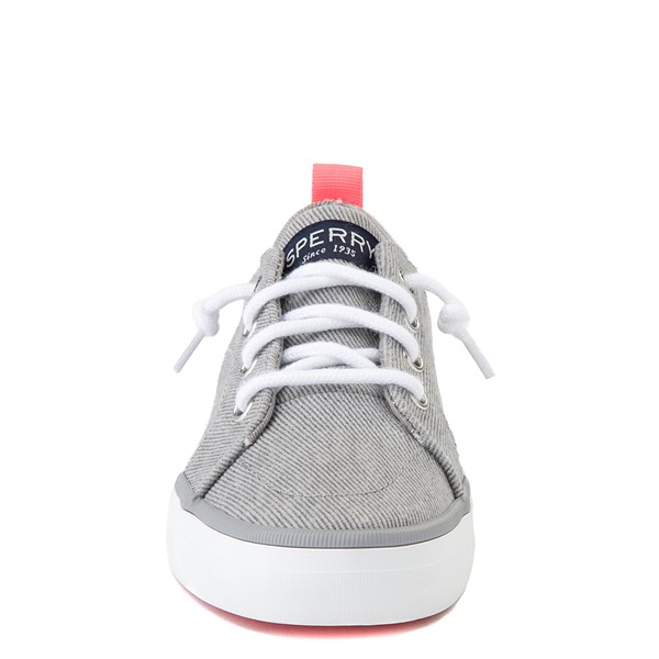 alternate view Sperry Top-Sider Crest Vibe Casual Shoe - Little Kid / Big Kid - GrayALT4