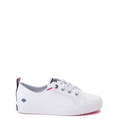 Main view of Sperry Top-Sider Crest Vibe Casual Shoe - Little Kid / Big Kid - White