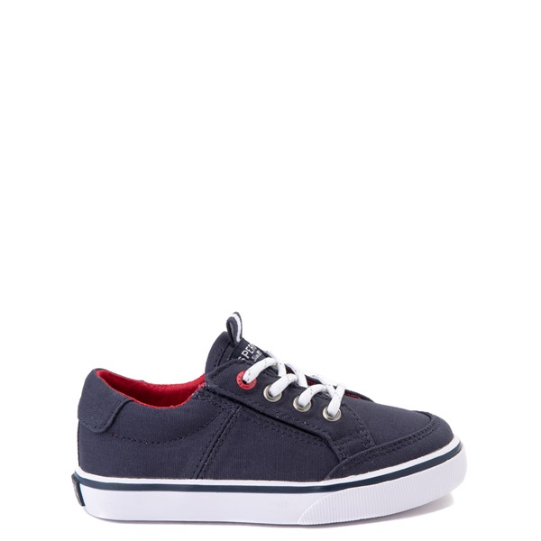 Main view of Sperry Top-Sider Trysail Casual Shoe - Toddler / Little Kid - Navy / Red