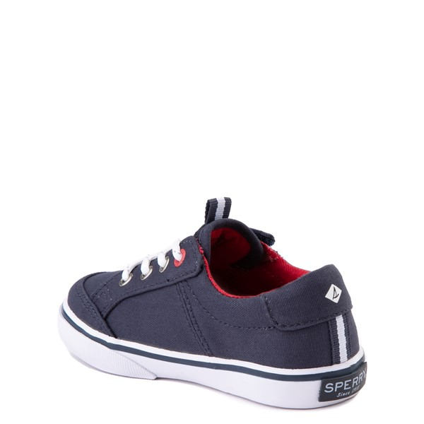 alternate view Sperry Top-Sider Trysail Casual Shoe - Toddler / Little Kid - Navy / RedALT1