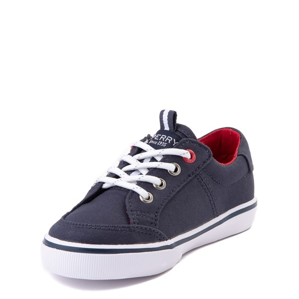 alternate view Sperry Top-Sider Trysail Casual Shoe - Toddler / Little Kid - Navy / RedALT2