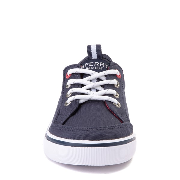 alternate view Sperry Top-Sider Trysail Casual Shoe - Toddler / Little Kid - Navy / RedALT4