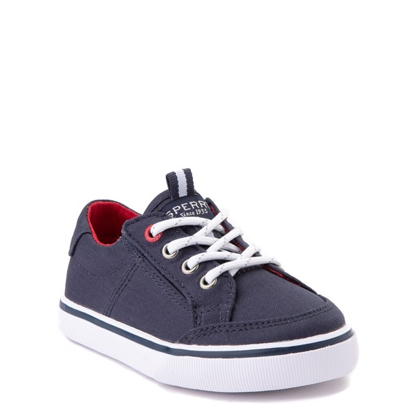 alternate view Sperry Top-Sider Trysail Casual Shoe - Toddler / Little Kid - Navy / RedALT5