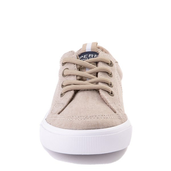 alternate view Sperry Top-Sider Trysail Casual Shoe - Toddler / Little Kid - KhakiALT4