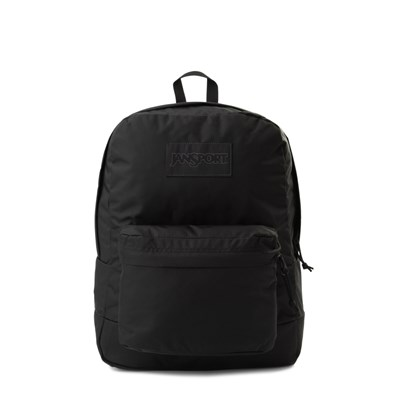 Main view of JanSport Superbreak Backpack - Black Monochrome