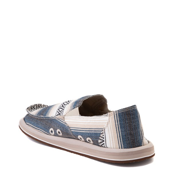 alternate view Mens Sanuk Donny Funk Slip On Casual Shoe - Navy Baja BlanketALT2