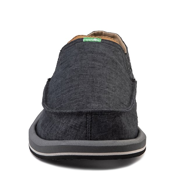 alternate view Mens Sanuk Pick Pocket Slip On Casual Shoe - BlackALT4