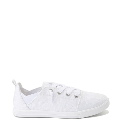 Main view of Womens Roxy Libbie Slip On Casual Shoe - White