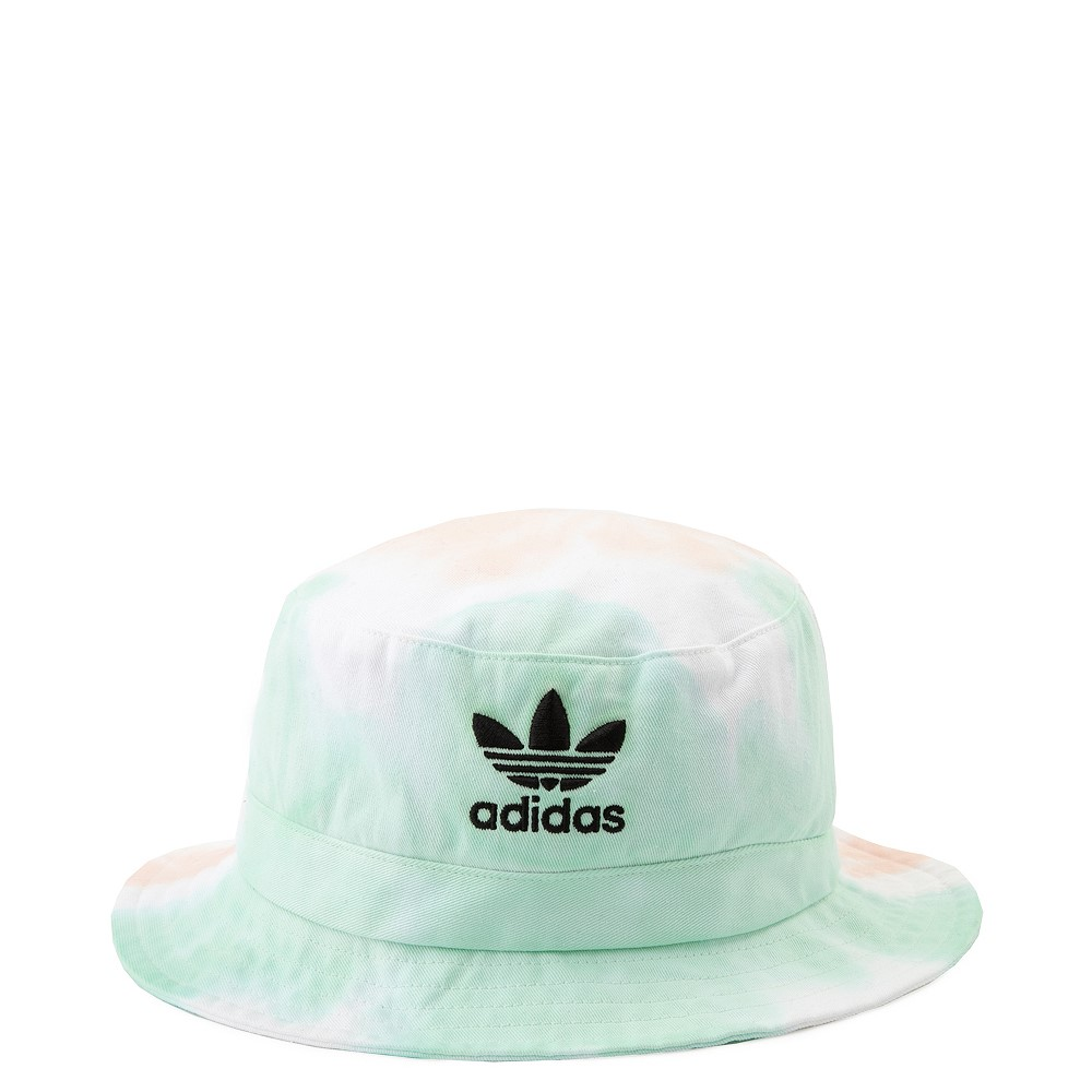 adidas Trefoil Bucket Hat - Pastel Tie Dye Wash