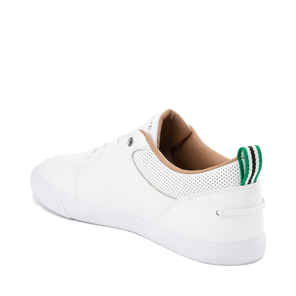 alternate view Mens Lacoste Bayliss Athletic Shoe - White MonochromeALT1