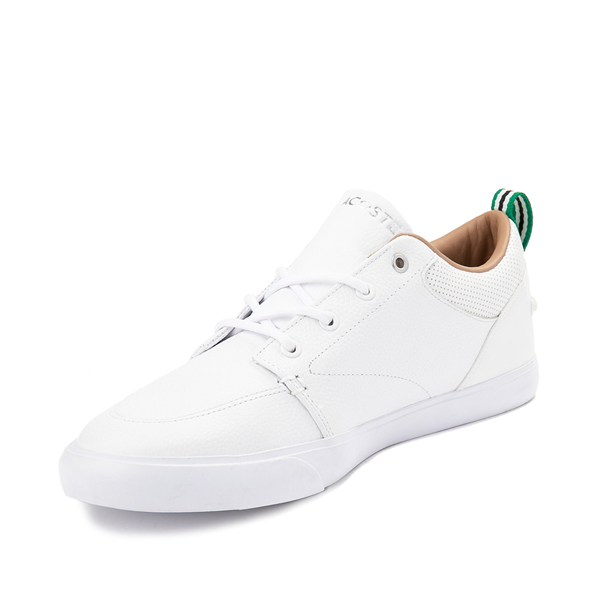 alternate view Mens Lacoste Bayliss Athletic Shoe - White MonochromeALT2