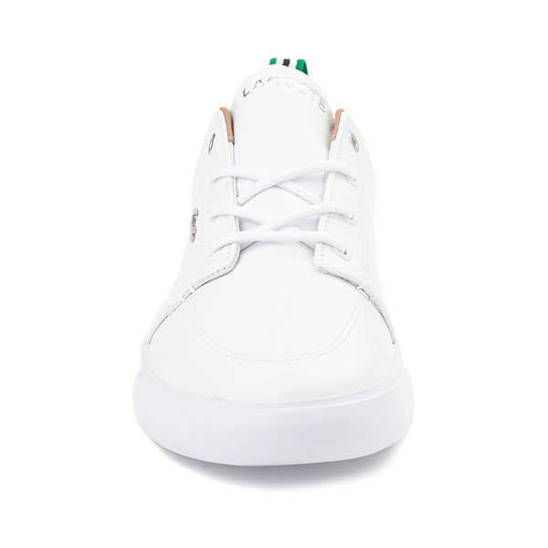 alternate view Mens Lacoste Bayliss Athletic Shoe - White MonochromeALT4