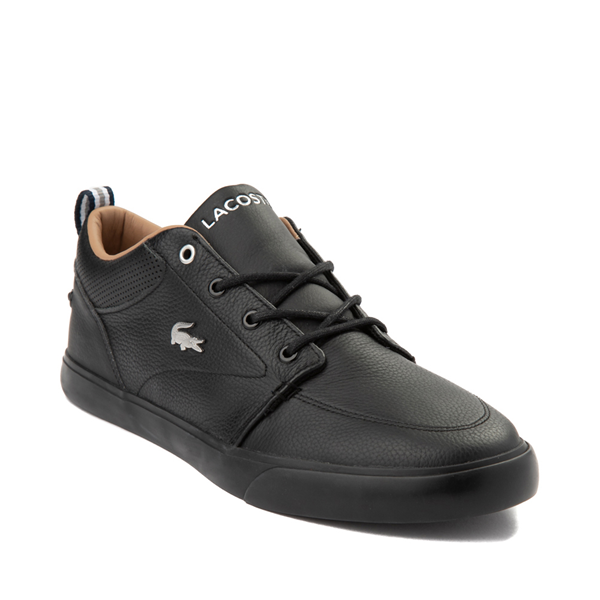 alternate view Mens Lacoste Bayliss Athletic Shoe - Black MonochromeALT5