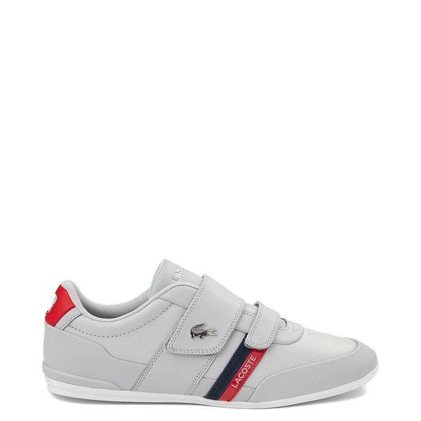 Main view of Mens Lacoste Misano Athletic Shoe - Light Gray
