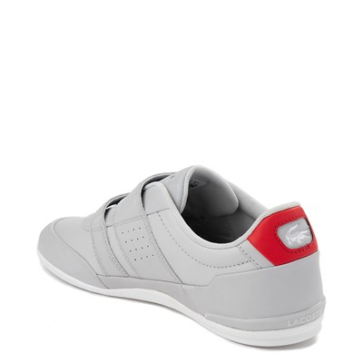 Alternate view of Mens Lacoste Misano Athletic Shoe - Light Gray