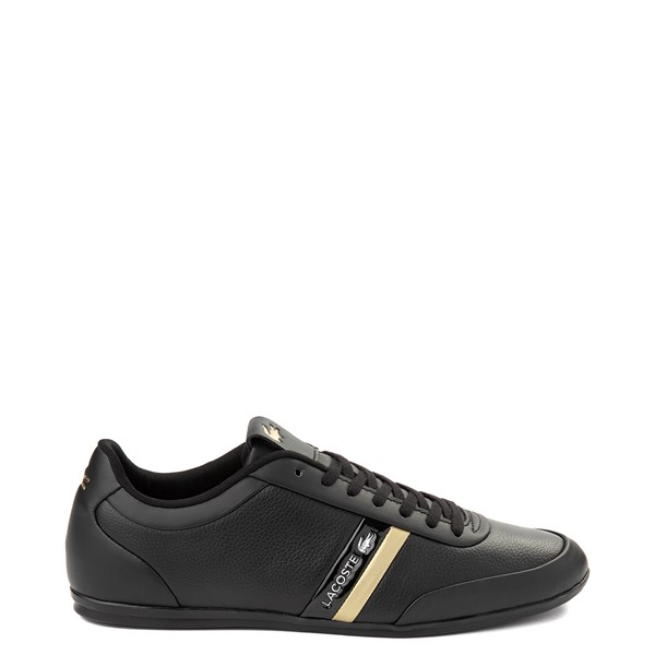 Main view of Mens Lacoste Storda Athletic Shoe - Black / Gold