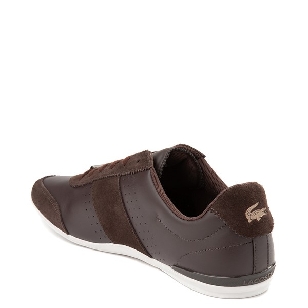 alternate view Mens Lacoste Oreno Athletic Shoe - BrownALT1