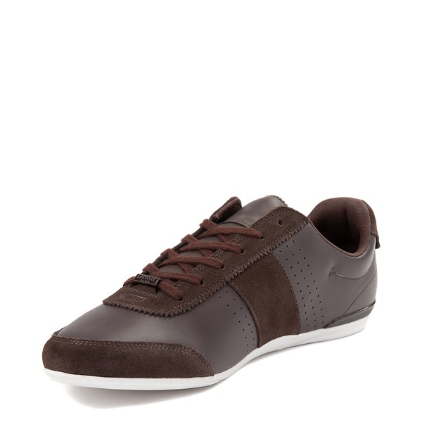 alternate view Mens Lacoste Oreno Athletic Shoe - BrownALT2
