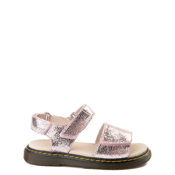 Main view of Dr. Martens Romi Sandal - Little Kid / Big Kid - Pink Salt