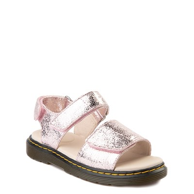 Alternate view of Dr. Martens Romi Sandal - Little Kid / Big Kid - Pink Salt