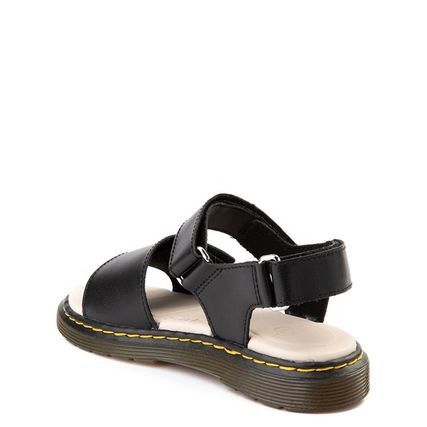 alternate view Dr. Martens Romi Sandal - Little Kid / Big Kid - BlackALT1
