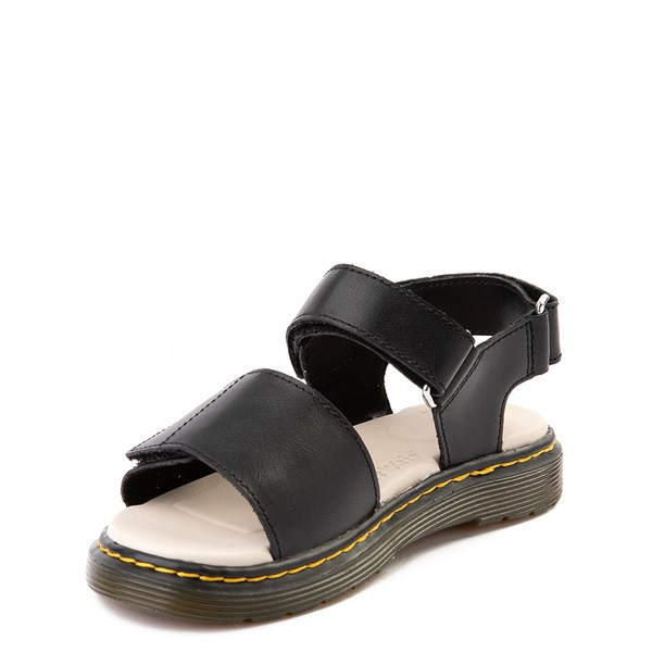 alternate view Dr. Martens Romi Sandal - Little Kid / Big Kid - BlackALT2