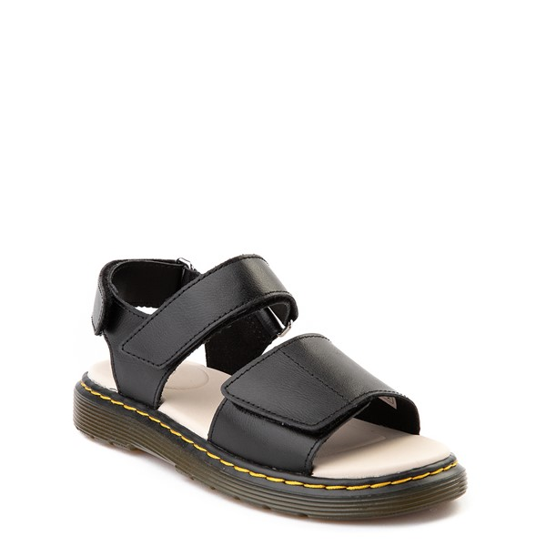 alternate view Dr. Martens Romi Sandal - Little Kid / Big Kid - BlackALT5