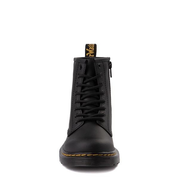alternate view Dr. Martens x Hello Kitty® 1460 8-Eye Boot - Little Kid / Big Kid - BlackALT4