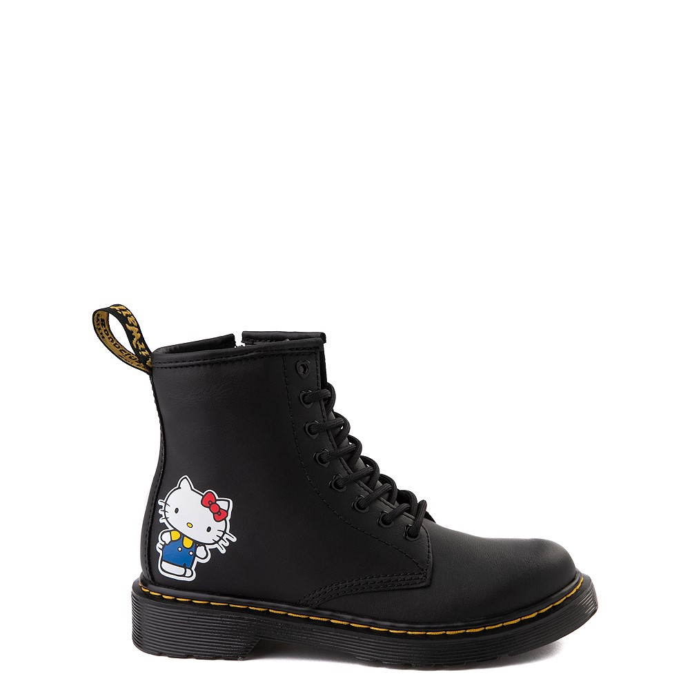 Dr. Martens x Hello Kitty® 1460 8-Eye Boot - Little Kid / Big Kid - Black