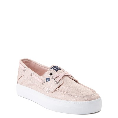 Alternate view of Sperry Top-Sider Bahama Boat Shoe - Little Kid / Big Kid - Rose Gold