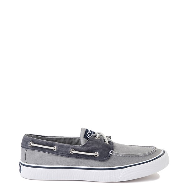 Main view of Mens Sperry Top-Sider Bahama Casual Shoe - Gray / Navy