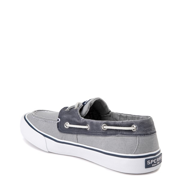 alternate view Mens Sperry Top-Sider Bahama Casual Shoe - Gray / NavyALT1