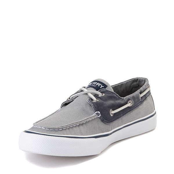 alternate view Mens Sperry Top-Sider Bahama Casual Shoe - Gray / NavyALT2