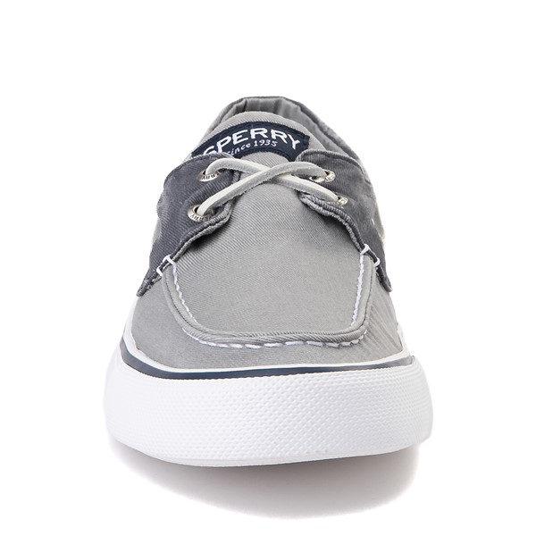 alternate view Mens Sperry Top-Sider Bahama Casual Shoe - Gray / NavyALT4