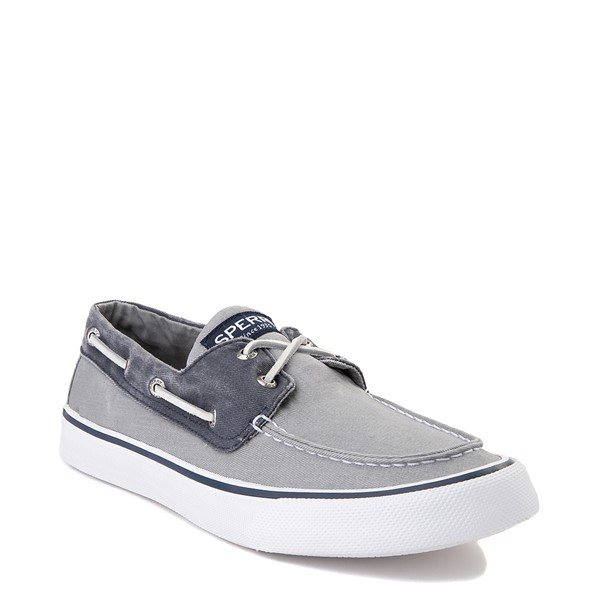 alternate view Mens Sperry Top-Sider Bahama Casual Shoe - Gray / NavyALT5
