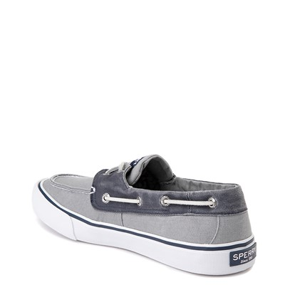 Alternate view of Mens Sperry Top-Sider Bahama Casual Shoe - Gray / Navy
