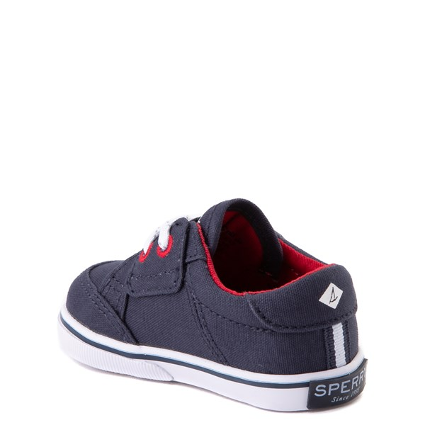 alternate view Sperry Top-Sider Trysail Casual Shoe - Baby - Navy / RedALT2