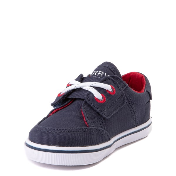 alternate view Sperry Top-Sider Trysail Casual Shoe - Baby - Navy / RedALT3