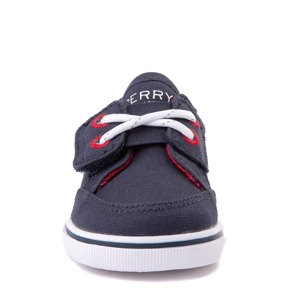 alternate view Sperry Top-Sider Trysail Casual Shoe - Baby - Navy / RedALT4