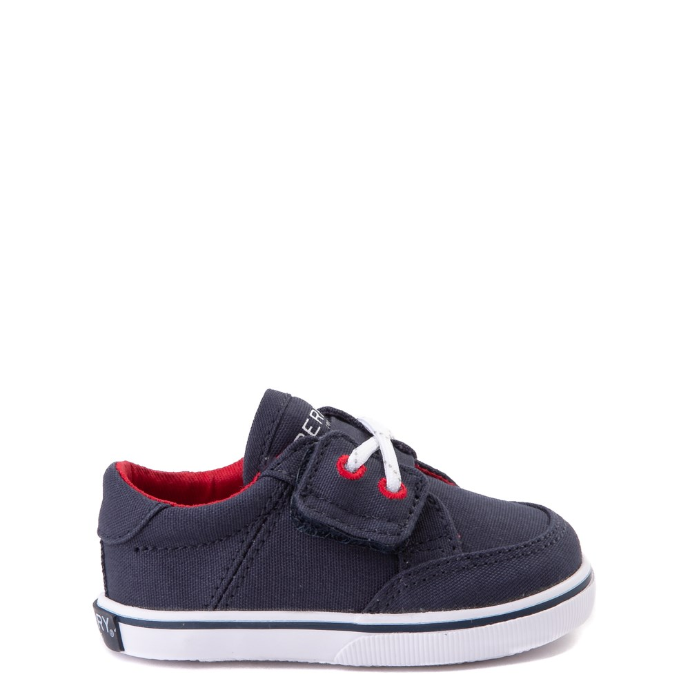 Sperry Top-Sider Trysail Casual Shoe - Baby - Navy / Red
