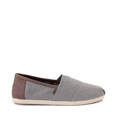 Main view of Mens TOMS Classic Slip On Casual Shoe - Gray