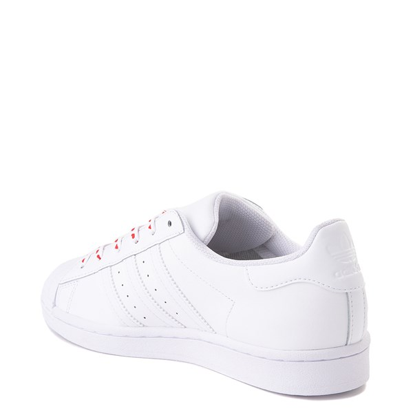 alternate view Womens adidas Superstar Athletic Shoe - White / MultiALT2