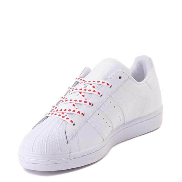 alternate view Womens adidas Superstar Athletic Shoe - White / MultiALT3