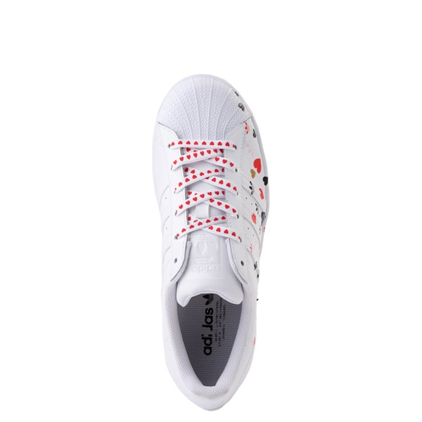 alternate view Womens adidas Superstar Athletic Shoe - White / MultiALT4B