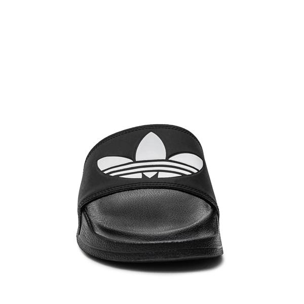 alternate view Mens adidas Adilette Lite Slide Sandal - BlackALT4