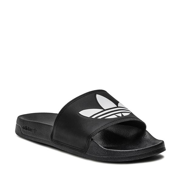 alternate view Mens adidas Adilette Lite Slide Sandal - BlackALT5