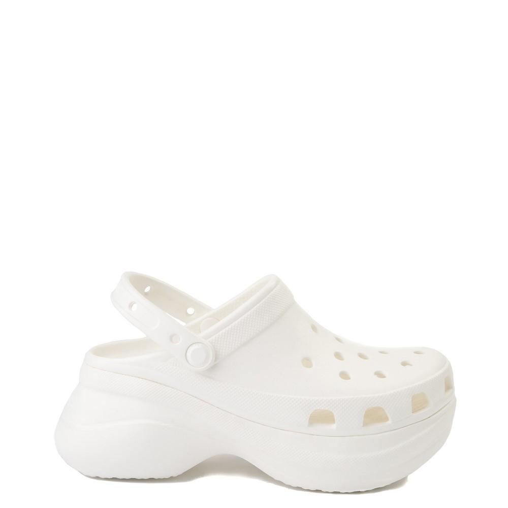 Womens Crocs Classic Bae Platform Clog - White