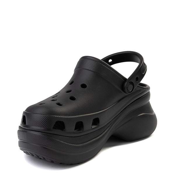 alternate view Womens Crocs Classic Bae Platform Clog - BlackALT2