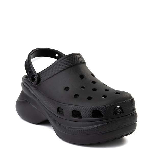 alternate view Womens Crocs Classic Bae Platform Clog - BlackALT5