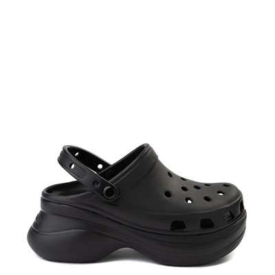 Main view of Womens Crocs Classic Bae Platform Clog - Black